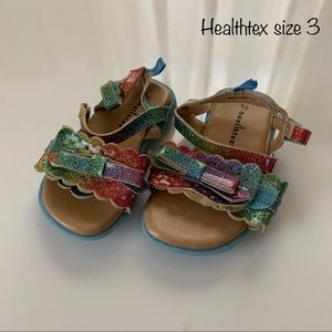 Size 3 Toddler Healthtex sandals